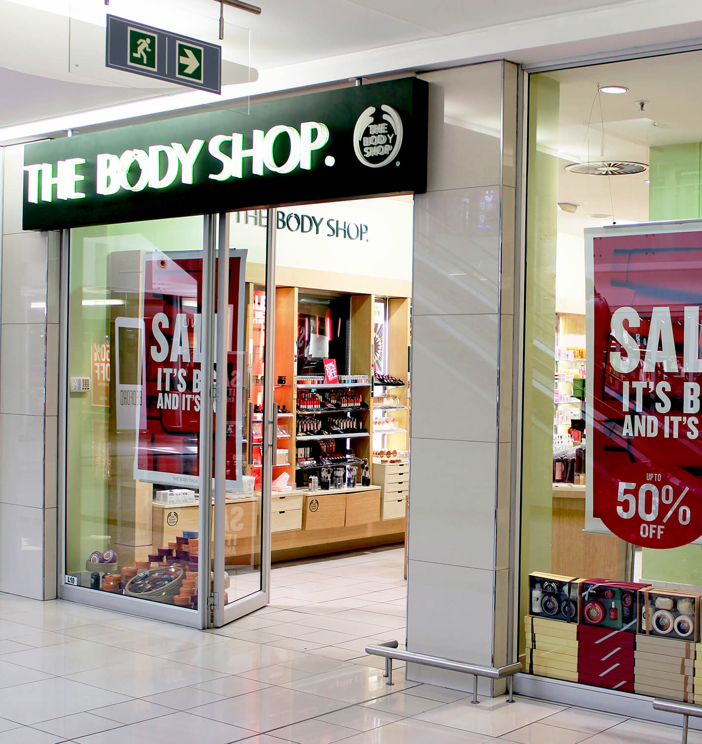 The Body Shop : Bedford Centre